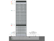 Mixed-Use Tower. Algeciras.